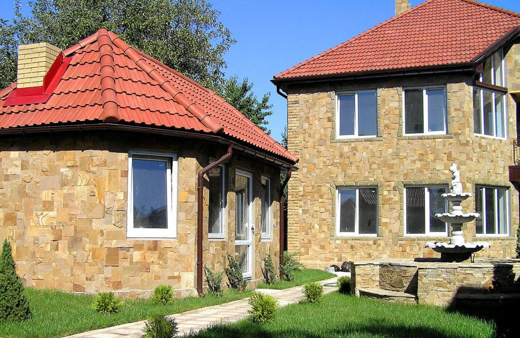 отделочный камень для фасадов