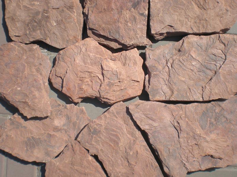 Камень рваный дракон серо-зеленый