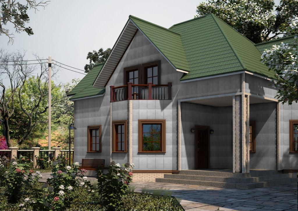 fasad-oblitsovannyy-bazaltovym-saydingom