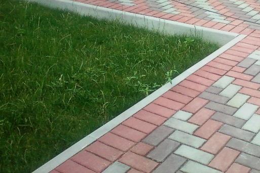 бордюры тротуарная плитка фото