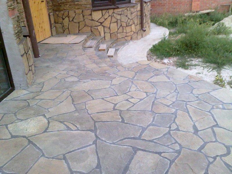 Купить рваный камень, плитка - Минск